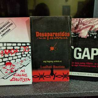 Dekada 70, Gapo, Desaparecidos by Lualhati Bautista