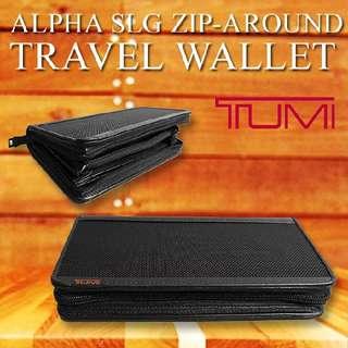 Tumi Zip Around Wallet Id
