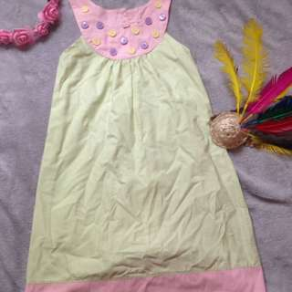 teaberry dress fit to 5-7t