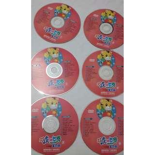 內地名牌 兒童 普通話DVD- 巧虎的世界 - 5 隻