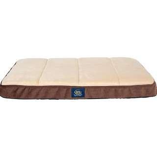Serta Orthopedic Memory Foam Dog Bed Crate Mat for Dogs