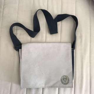 Grey A4 Sling Bag