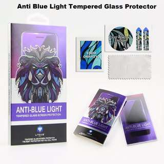 🚚 Buy 1 Get 1 FREE / iPhone AntiBlue Tempered Glass Protector