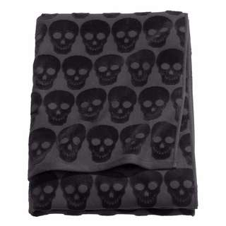 H&M Bath Towel (Skull Design)