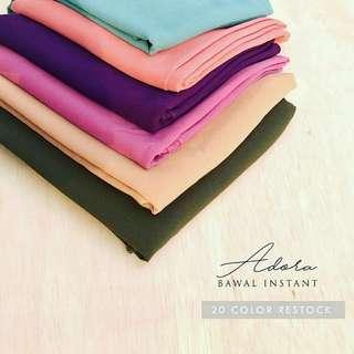 tudung adora bawal shawl instant