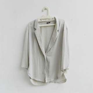 [PRELOVED] loose vintage outer cardigan/blazer