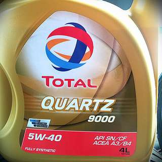 TOTAL 5W40 FULLY SYNTHETIC