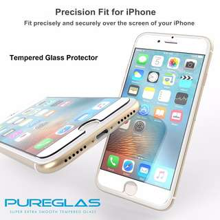 🚚 iPhone X 10 6+ 6 Plus Tempered Glass Protector FREE Postage