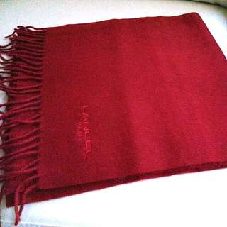 (特價$380)Lancel Vintage Scarf 頸巾 圍巾