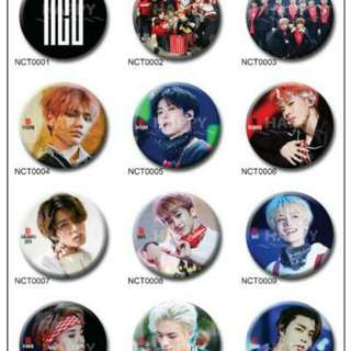 NCT Button Badge