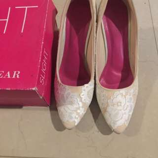 Wedding heels slight super nyaman