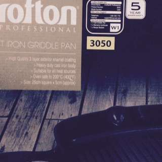 Brand New CROFTON 3050 Grill Pan