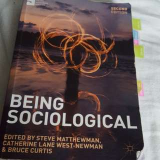 Being Sociological (Socio 100)