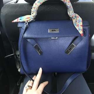 Victoria bag navy colour