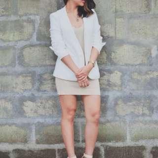 Promod white blazer