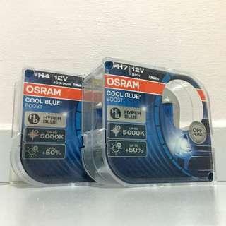 OSRAM Cool Blue Boost H4 / H7 Bulb (Twin Pack)