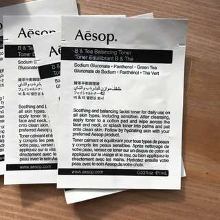 Aesop Samples