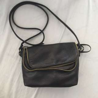 H&M Mini Crossbody Faux Leather Bag