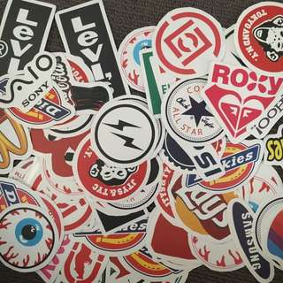 Branding Skateboard Stickers