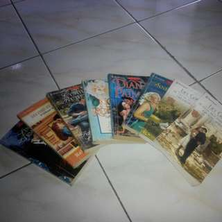 Novel Harlequin (8 buku)