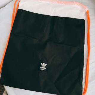 Adidas Originals Trefoil Drawstring Backpack/Gymsack