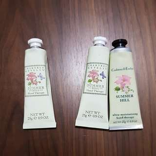 BN crabtree & evelyn hand therapy