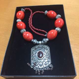 Morrocon Amulet And Chain