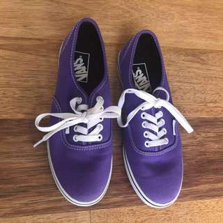 Purple vans US6.5