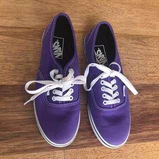 Purple vans US6.5