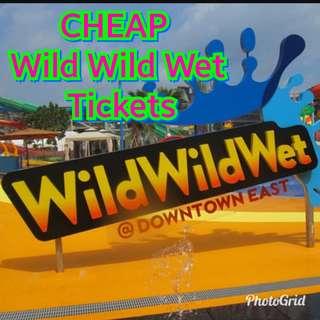 CHEAP Wild Wild Wet Tickets