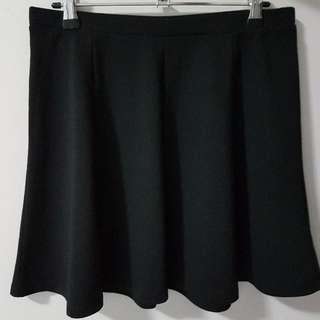 Black Jay Jays skater skirt