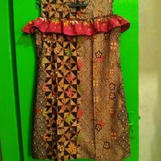 Dres batik model kekinian