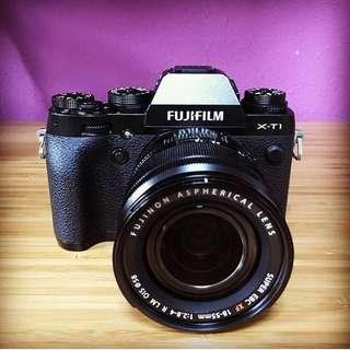 Fujifilm X-T1 Black Noir Body