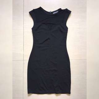 Buffalo Lil Mesh Black Dress