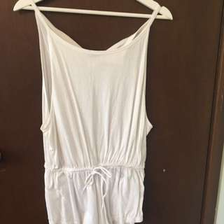 #playsuitsale Isla Collective White Playsuit