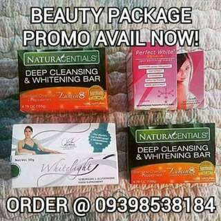 Combo Beauty & Whitening Package (Whitelight & Perfectwhite)