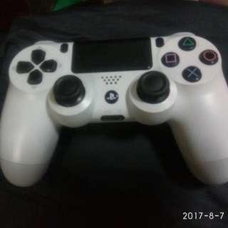 SONY PS4 搖桿(白)