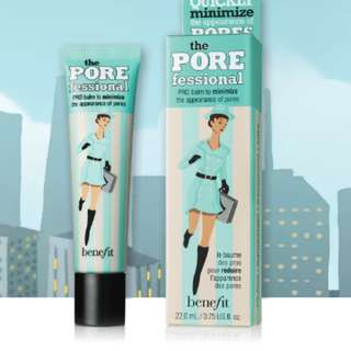 Benefit's The POREfessional face primer 3ml ( 70 pesos only if bought with other benefit products)