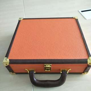 Limited  Edition Square Trunk Case Box
