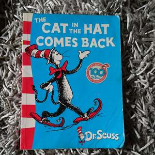The cat on the hat comes back by Dr seuss