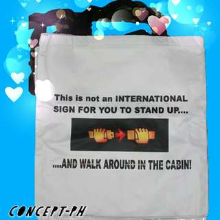 tote bag for cabin crew