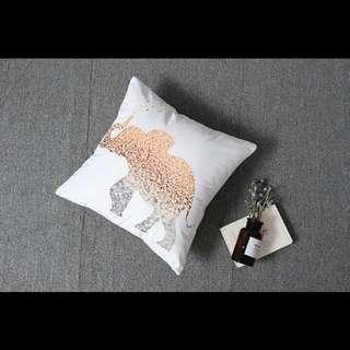 Eleohant print Sofa Square Cushion Home Decor