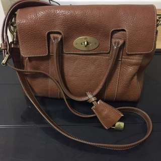 Authentic Mulberry Bayswater Small