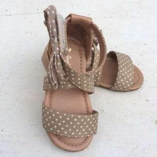 Brown Mini Gladiator Sandals