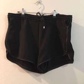Dion Lee Black Shorts