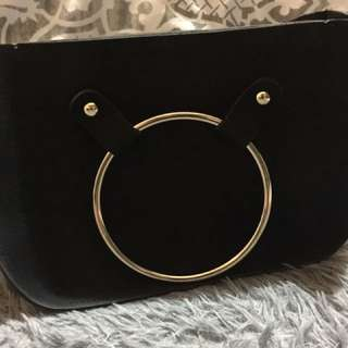 Cross body bag (black)