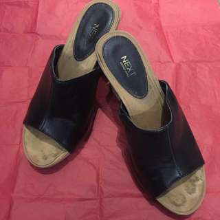 NEXT: Leather Upper (Wedges)
