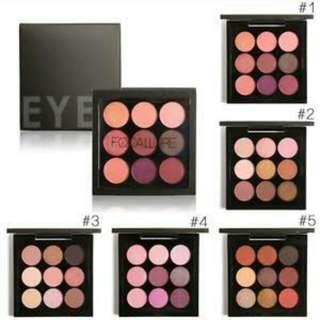 Focallure Eyeshadow 9colors