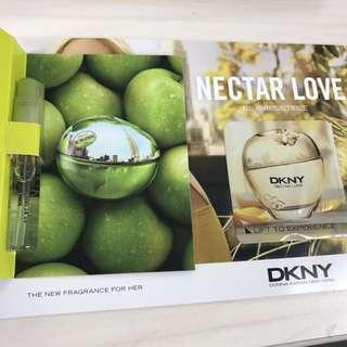DKNY香水試用裝