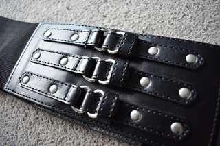 Womens Black Corset Belt Brand New